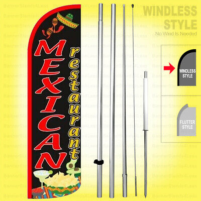 Western Union Money Transfer Windless Swooper Flag Kit 15 Feather Banner Sign kq-h