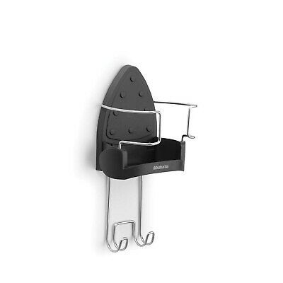 Brabantia Ironing Board Hanger and Iron Store - Black 1