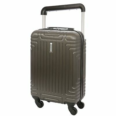 Aerolite ABS Hard Shell Carry On Hand Cabin Luggage Trolley Bag Suitcase 55x3...