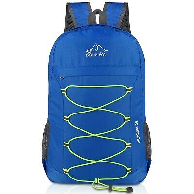 Crenze 25L Lightweight Foldable Backpack, Travel Hiking Waterproof Daypack, M...
