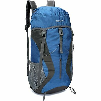 50L Lightweight Hiking Backpack Foldable Multi-Functional Travel Bag Water Re...