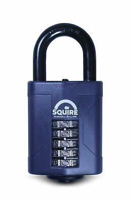 Squire CP60 60mm 5 Wheel Recodable Combination Padlock HSQCP60