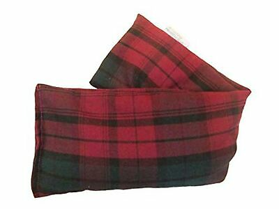 Unscented Microwave wheat bag - UK Made Heat Pack - NON Scent in Plum Tartan ...