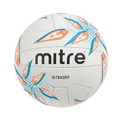 New Mitre B1203 Attack Pearl Netballs Match Training Practice Official Size Ball