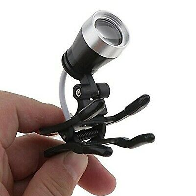 TT DENTAL 3W Clip Clamp LED Head Light Lamp for Dental Binocular Loupes Glass...