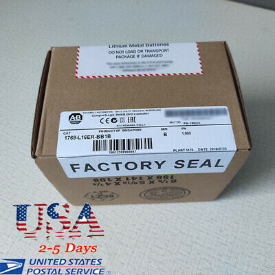 Sealed USA STOCK Allen Bradley 1769-L16ER-BB1B CompactLogix Controller Warranty