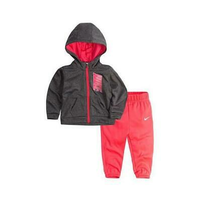 Children?s Tracksuit Nike 408S-A4F Pink Grey