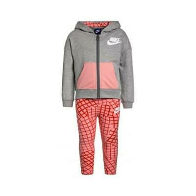 Baby's Tracksuit Nike 923-A4E Pink Grey