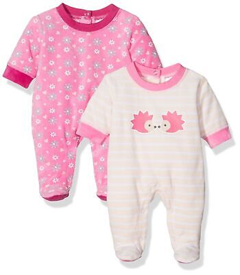 Twins Baby Girls Play & Sleepsuit Graphic 7-9 Months/74 cm