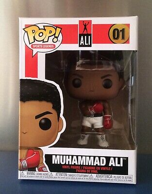 "MUHAMMAD ALI 3.75/"" POP SPORTS LEGENDS VINYL FIGURE FUNKO BRAND NEW 01 BOXING"