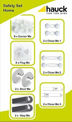 Hauck Safety Pack (Plug covers, Door Guards, Cupboard Locks and Corner Guards...