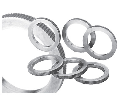 Reducing Ring Sägering for Circular Saw Blades Milled Exact Fit H7 all Sizes