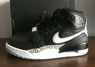 AIR JORDAN LEGACY 312 Black E White Cement 44,5 Nike scarpe
