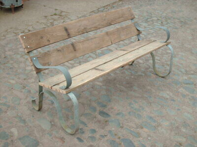 Reclaimed Rustic Garden Bench