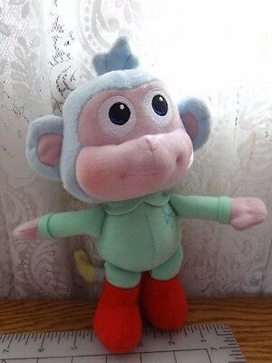 "Baby Boots Plush 9"" Fisher Price Dora the Explorer the Monkey Stuffed Toy 2013"