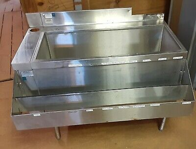 Lacrosse Under Bar Ice Chest Bin Speed Rack Post Mix Cold plate Soda
