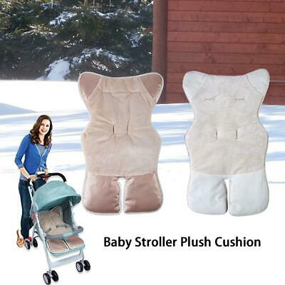 Baby Stroller Plush Cushion Universal Pad Baby Buggy Blanket Windproof Winter