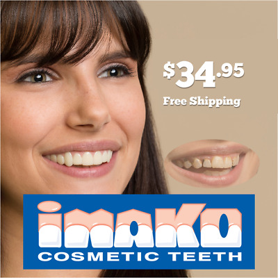 Imako® Cosmetic Teeth - Large Size Bleached Color