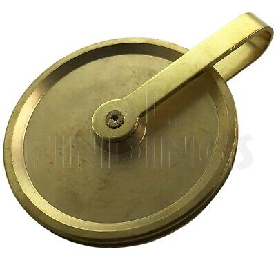 GRANDFATHER GUT PULLEY / BRASS LONGCASE - 50mm -NEW CLOCK PARTS