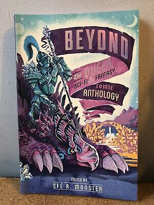 The BOYOND ANTHOLOGY Part 1 Queer Sci-Fi Comic Graphic Novel by Sfe R. Monster
