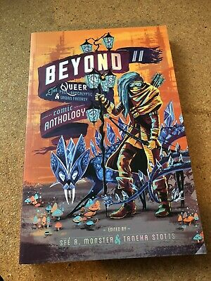 The BOYOND ANTHOLOGY Part 2 Queer Sci-Fi Comic Graphic Novel by Sfe R. Monster