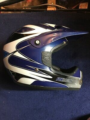 FOX Racing Motocross Helmet, Size large In Excellent Condition
