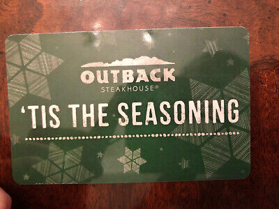 $50 Outback Steakhouse Bonefish Grill Carrabba's Fleming's Giftcard