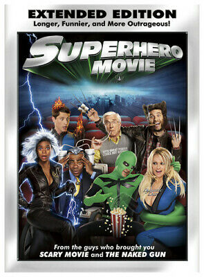 Superhero Movie (Extended Edition) [DVD] DVD Incredible Value and Free Shipping!