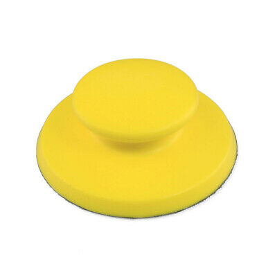 Polishing Sanding Pad Detailing Circular Woodworking Parts Supplies Yellow