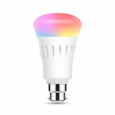 WiFi Smart B22 Bayonet Bulbs, Alexa Light Bulb, LOHAS RGBCW (2700K & 6000K SMD),