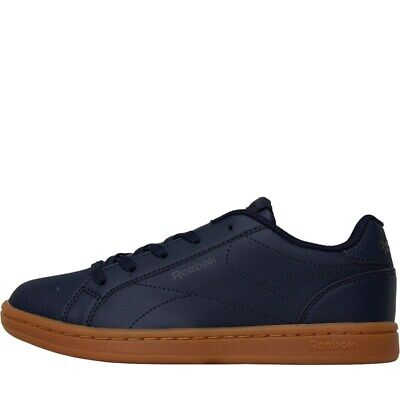 Reebok Classics Boys Royal Complete Clean Trainers Collegiate Navy UK Size 10