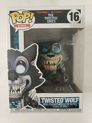Pop Books The Twisted Ones TWISTED WOLF #16 Five Nights At Freddy's Funko New