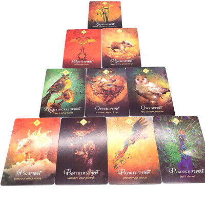 68PCS Tarot Card For The Animal  Divination Fate Board Game Famlily Party