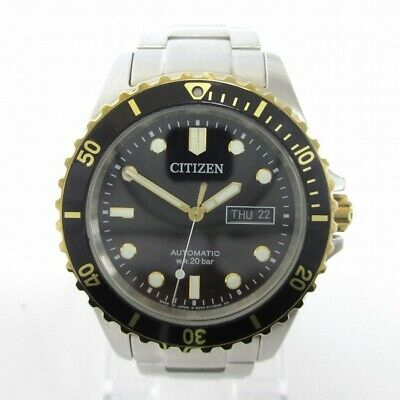 Citizen 8203-S077451 Divers Wrist Watch Free Shipping [Used]