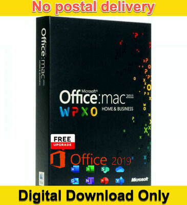 Microsoft Office Home and Business 2011  Lifetime