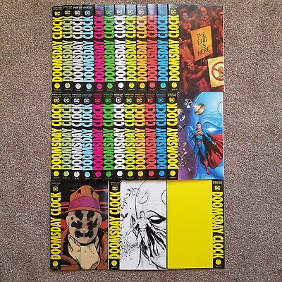 DC Comics - Doomsday Clock COMPLETE - ALL Variants - 1st Prints NN+