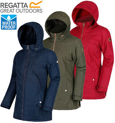 Details about Regatta Ladies MYLEE MYRTLE II Insulated Waterproof Jacket Coat Womens RRP £80