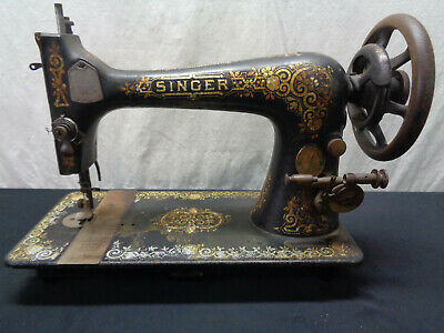 Vintage Singer Manual Sewing Machine Sold AS IS (OAS25)
