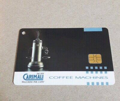 Carimali Owner Card for coffee espresso fully automatic machines