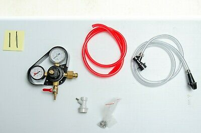 Portable Ball Lock Keg Dispensing Kit Picnic Faucet Nice Regulator Tubing