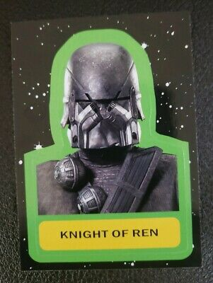 2019 Journey To Star Wars: The Rise Of Skywalker Sticker Card CS-15 Knight Of...
