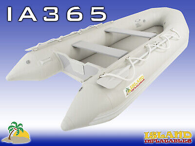 3.65m ISLAND INFLATABLE BOAT ✱ AIR-FLOOR ✱ Durable Thermo Welded Seams 3YRW