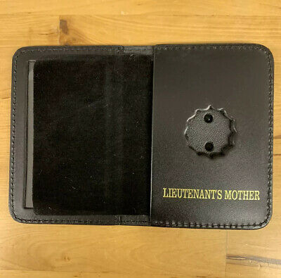New York City Lieutenant  Friend Mini Shield  Bi Fold Wallet 2018