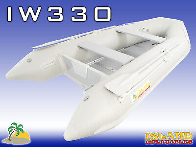 3.3m ISLAND INFLATABLE BOAT ✱WOOD FLOOR ✱ Durable Thermo Welded Seams 3YR-W
