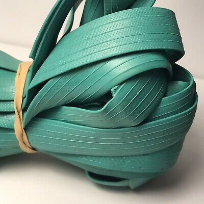 """Rubber Bands 62"""" GREEN 12 pack Use on pallets, trash cans, moving pads, storage"""