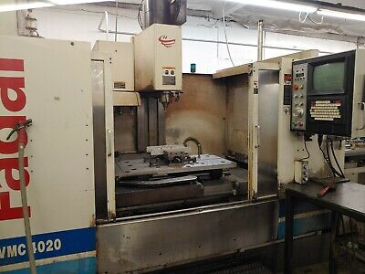 1999 Fadal 4020 Cnc Vmc With Pallet Changer & Hydrosweep Dash 5