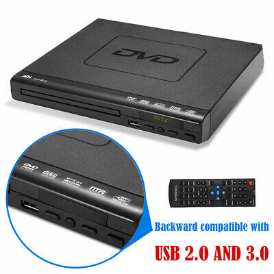 Compact DVD CD Player HDMI Upscaling & Scart USB Multi Region with Remote