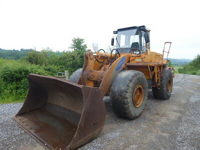 Samsung Sl250.2 Loading Shovel 1999 20 Ton In Weight 9128 Hours Air Con Bucket
