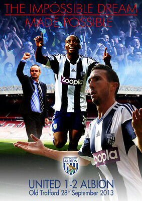 West Bromwich Albion: The Impossible Dream Made Possible... DVD (2013) West