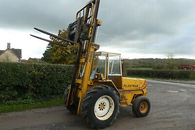 Sanderson Plantman 2Wd Diesel Fork Lift With Tipping Carriage And Forks